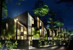 Hedera, un hogar prefabricado que posee dos dormitorios y emplea como arquitecto orgánico a la naturaleza.