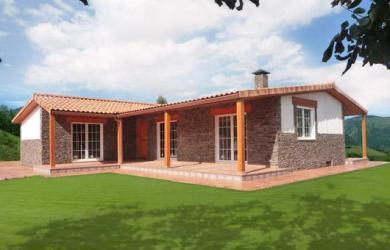 casas de campo prefabricadas