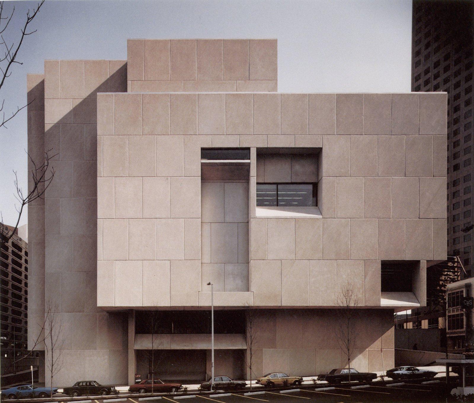 Icono del diseño 10 edificios de Marcel Breuer
