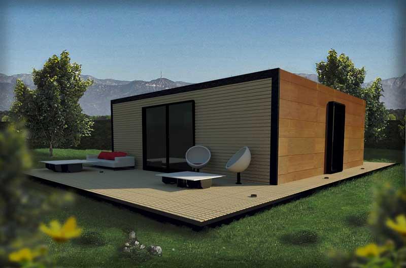 Casas modulares de dise o casas prefabricadas - Casas prefabricadas por modulos ...