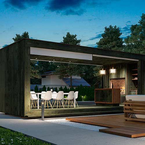 Construir una casa casas prefabricadas for Casa minimalista uy