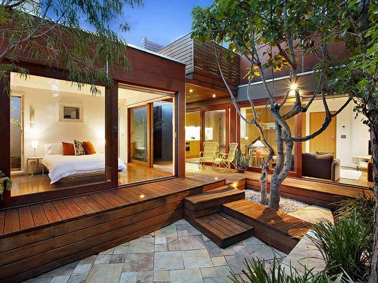 Casas prefabricadas de madera y sus ventajas for Casas de madera para terrazas