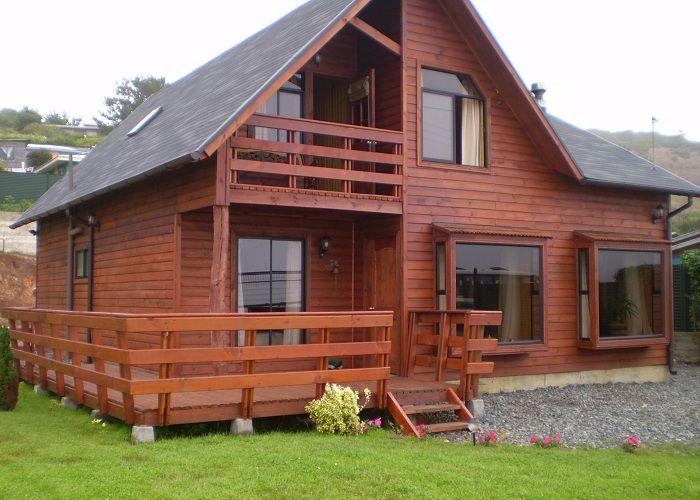 Casas de madera canadienses