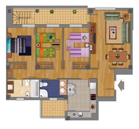 Planos de casas prefabricadas casas prefabricadas for Imagenes de planos de casas