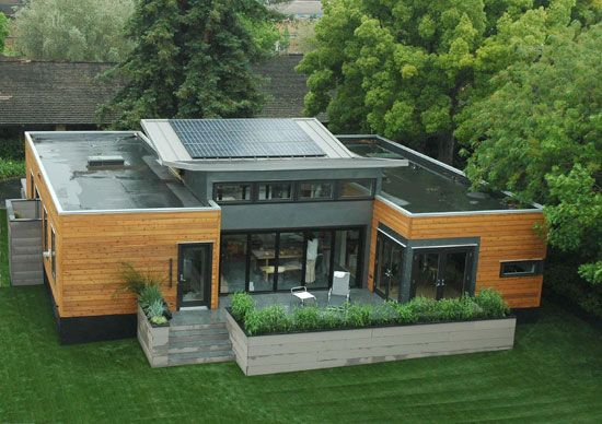 Casa ecol gica con energ a solar casas prefabricadas - How to build an inexpensive home ideas ...