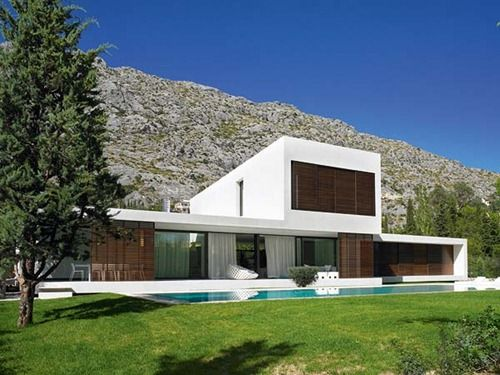 casas modernas - Casas Minimalistas