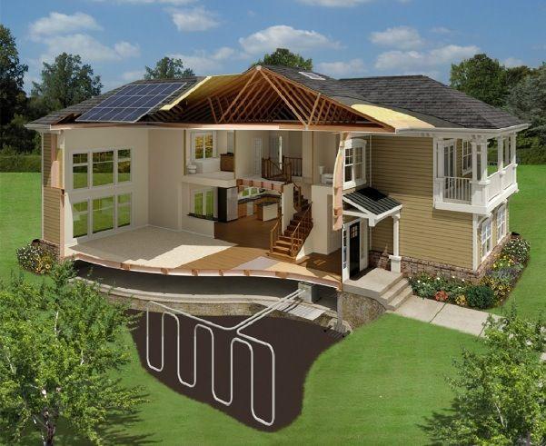 Casa ecol gica con energ a solar casas prefabricadas - Casas prefabricadas ecologicas ...