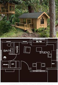 planos de casas de madera prefabricadas