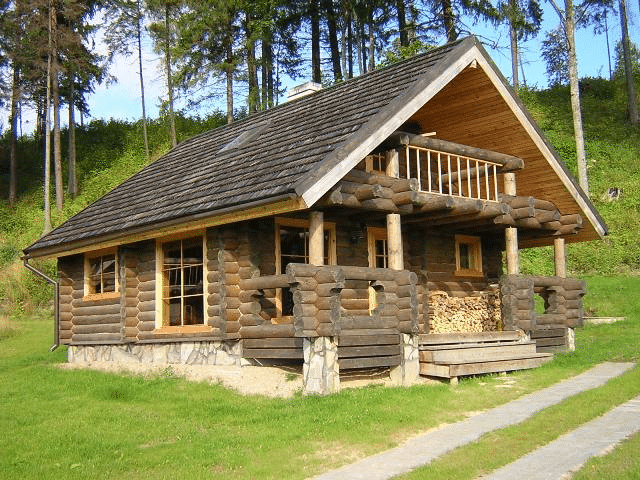 casa rústica prefabricada