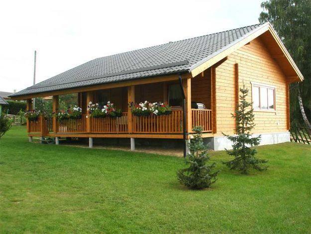 Caba as de madera prefabricadas for Cabanas madera baratas