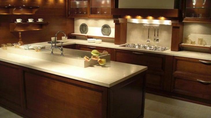 Se puede poner m rmol en las casas prefabricadas - Tipos de marmol para cocina ...
