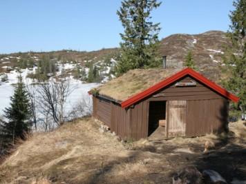 cabaña de vacaciones