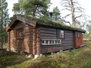 cabaña de madera para vacaciones