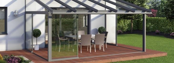 Cerramientos de terrazas en tu casa prefabricada for Cubiertas acristaladas