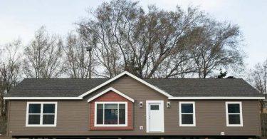 Es una casa modular un tráiler