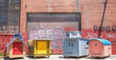 casas ecológicas para gente sin techo
