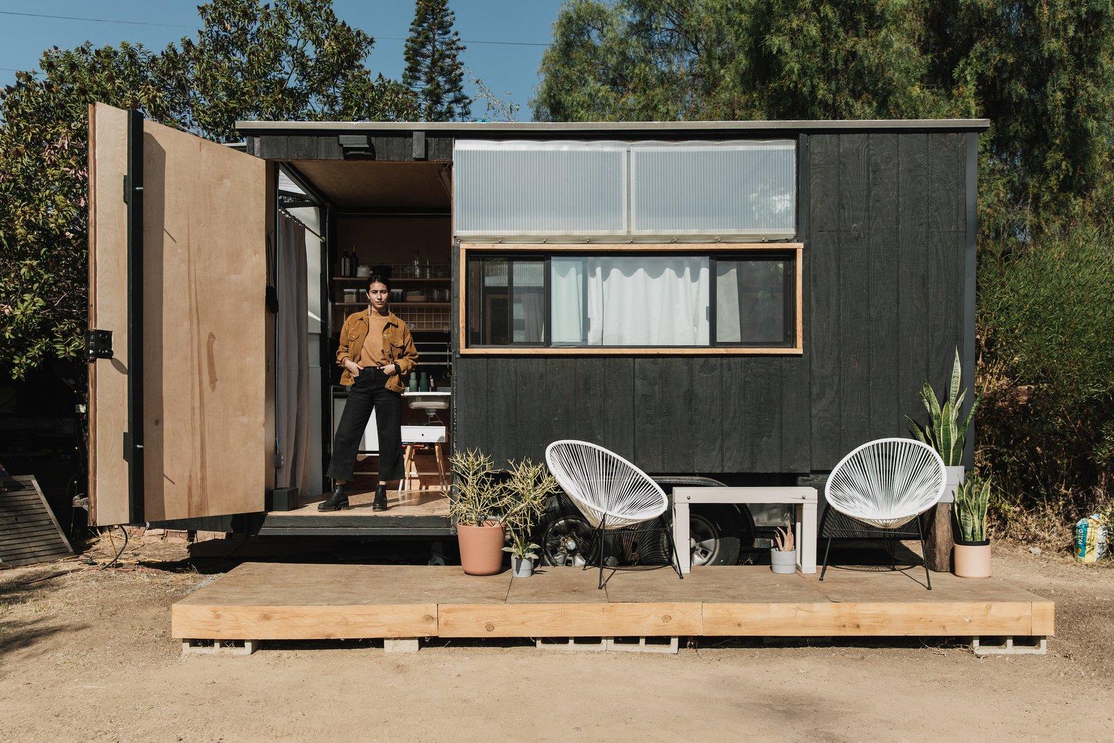 vivir en una casa pequeña prefabricada