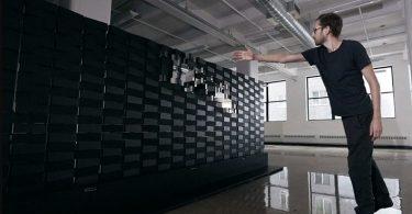 Brixels, bloques modulares que se pueden combinar para crear paredes móviles