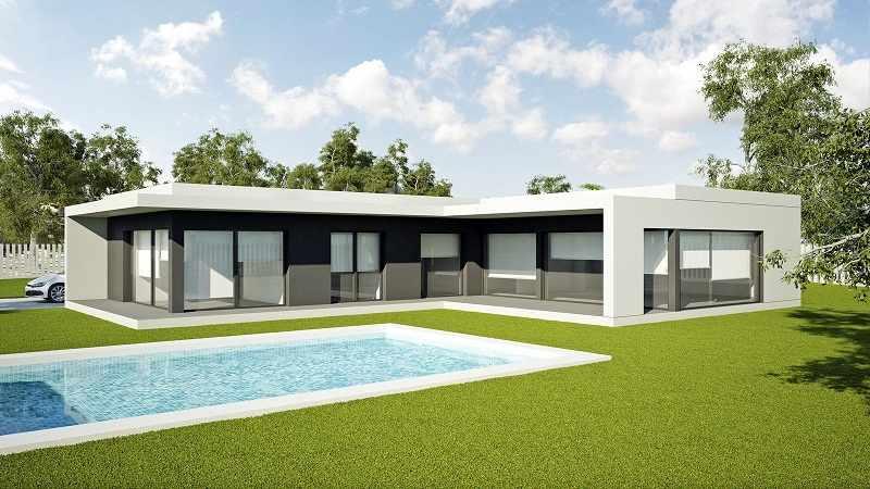 Diferentes dise os nuevos de casas prefabricadas para este 2018 - Casas prefabricadas de diseno en espana ...