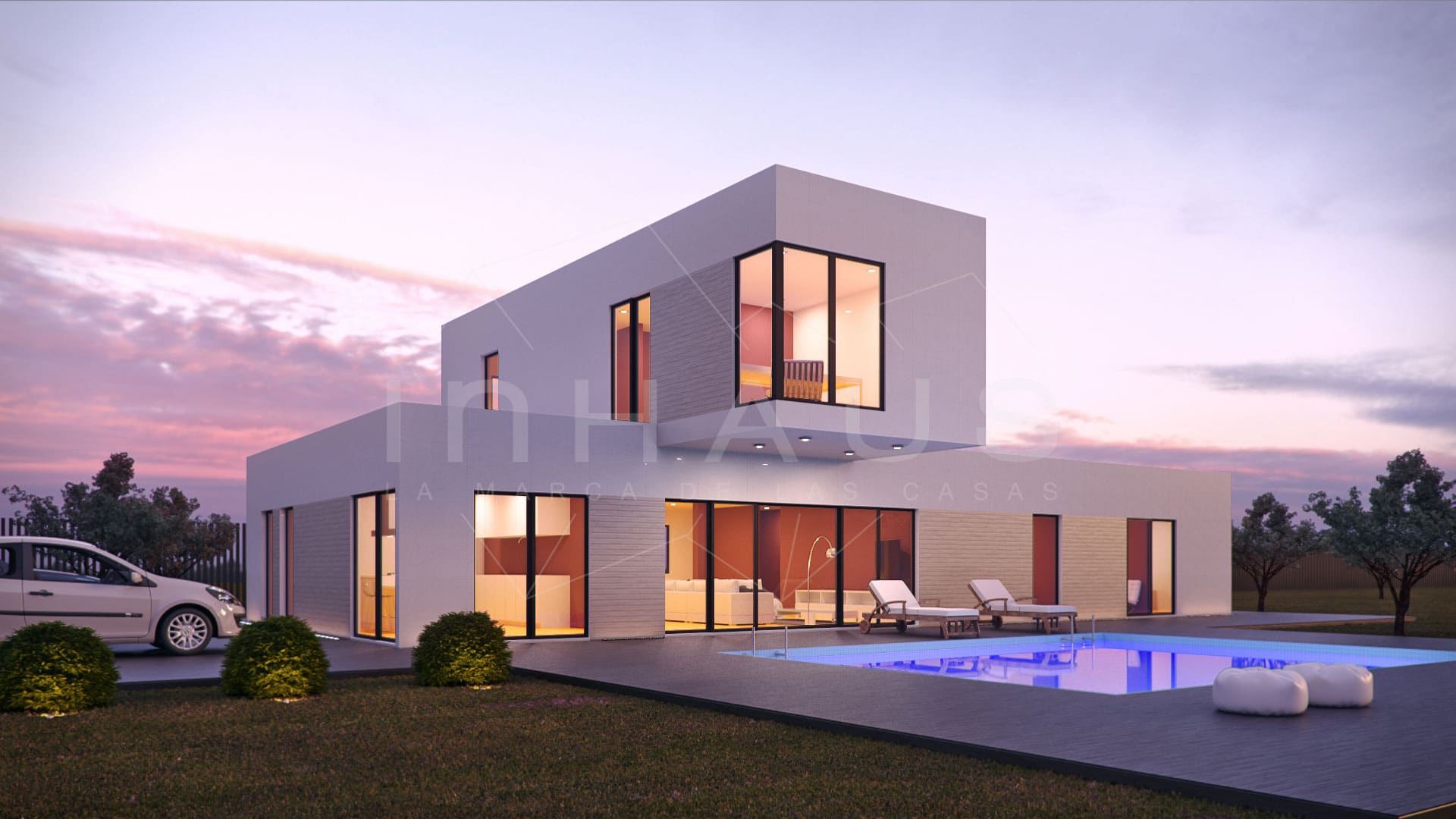 Casas prefabricadas ya c mo construir una casa en 60 - Casas inhaus opiniones ...