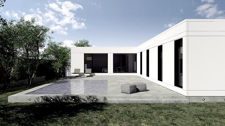 Eficiencia energ tica en las viviendas prefabricadas de - Viviendas unifamiliares modernas ...