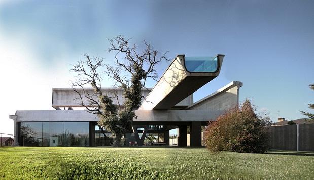 Hemeroscopium house la estructura prefabricada modular for Arquitectura prefabricada
