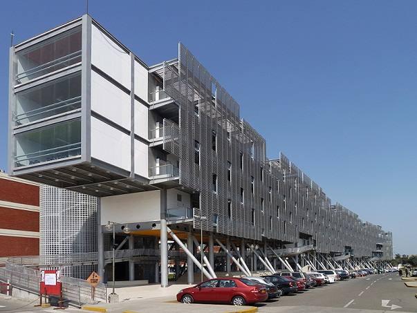La estructura modular en edificios universitarios flexibles