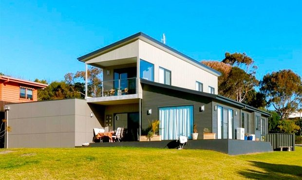 hogar modular espacioso y moderno
