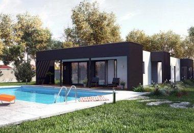 """casas de techo plano o también conocidas como """"casas cubicas"""""""