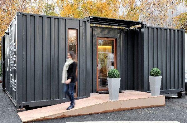 pasar una noche de hotel en un contenedor. Black Bedroom Furniture Sets. Home Design Ideas