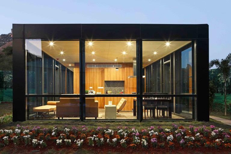 casa de cristal de Philip Johnson