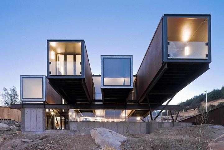 Qué ventajas tiene la arquitectura modular ecológica?