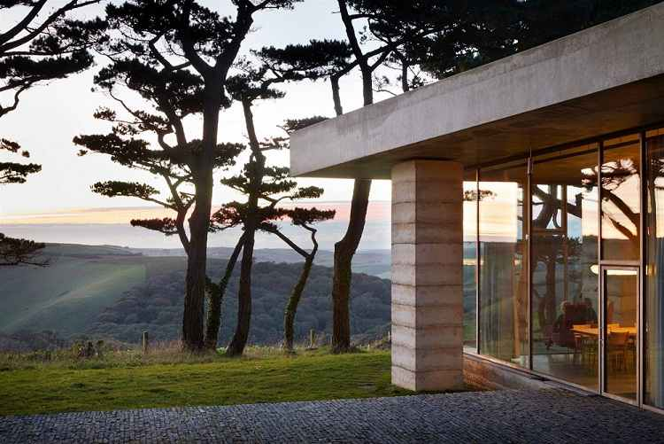 Secular Retreat, de Peter Zumthor para Living Architecture
