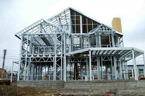 así es como se realiza una casa modular de acero y hormigón.