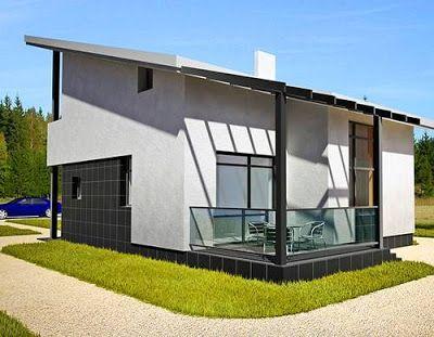 disferentes casas prefabricadas