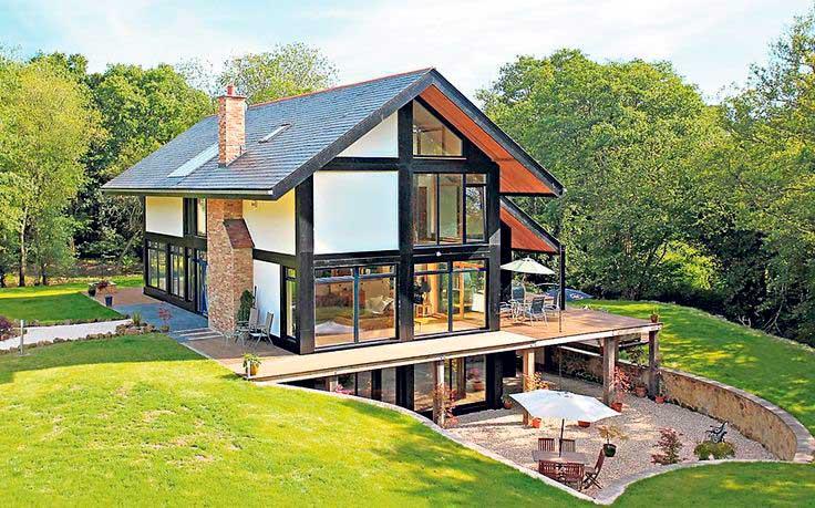 casa ecologica con energia solar