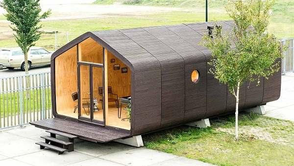 casa prefabricada de cartón