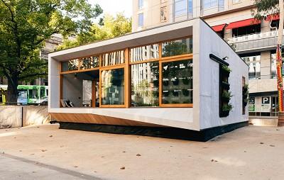 casa prefabricada sostenible y modular
