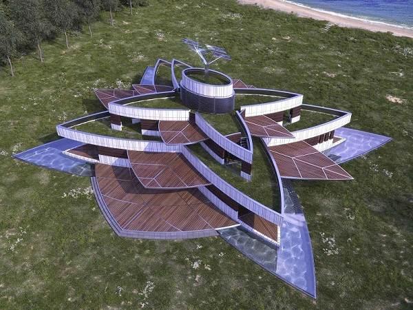casa realizada por Luis de Garrido