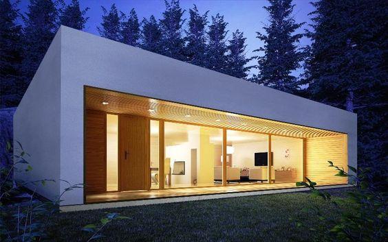 Casas modernas baratas for Casa moderna baratas