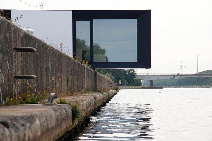 casas Skilpod fabricadas en Belgica