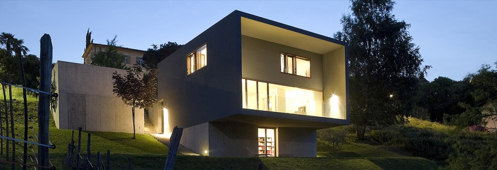 Casas prefabricadas de hormig n modernas casas for Casas prefabricadas modernas