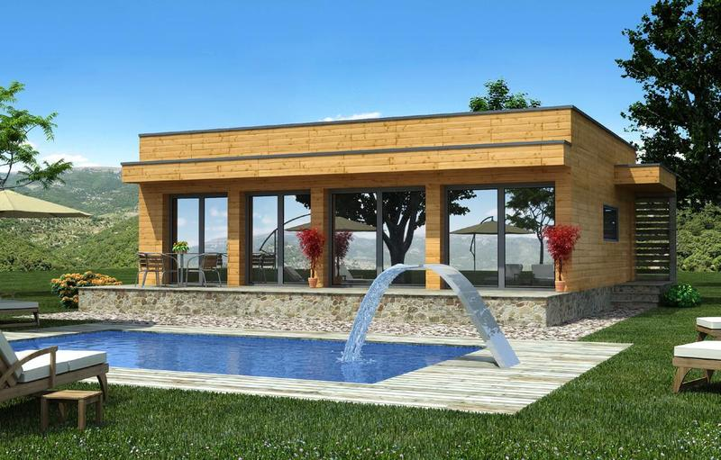 existen casas prefabricadas de madera baratas