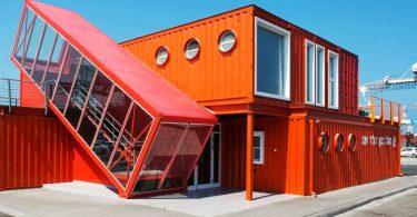 casas hechas con contenedores