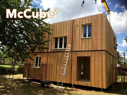 casas prefabricadas a base de cubos