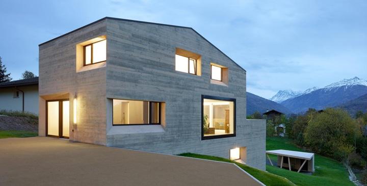 Casas prefabricadas de hormig n modernas casas - Casas modulares de hormigon ...