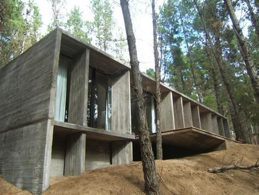 edificación tradicional de hormigón