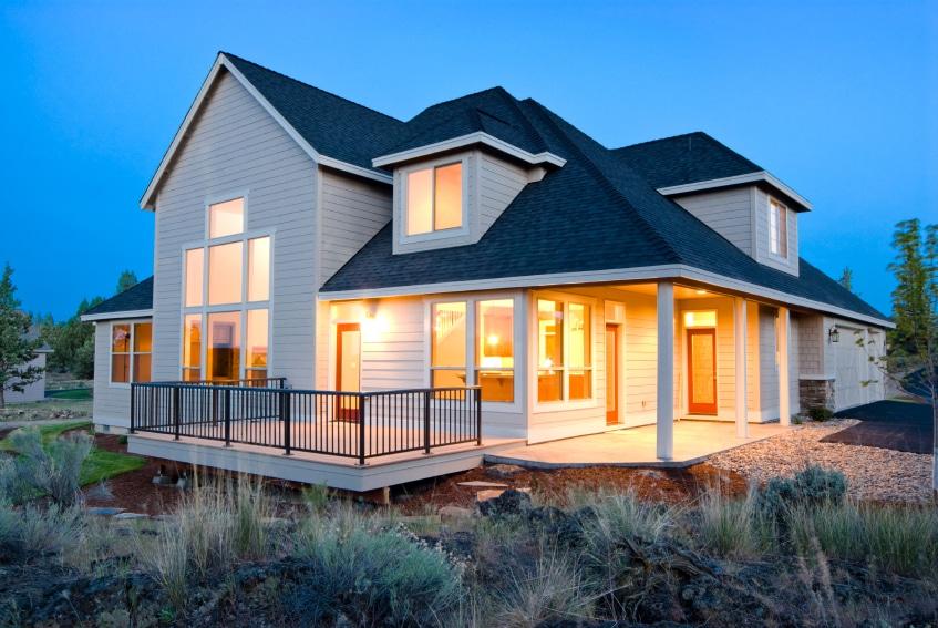 Casas de madera modernas casas prefabricadas - Casas de madera canadiense ...