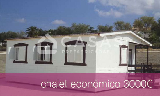 Chalet modular prefabricado