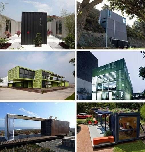 viviendas alternativas a traves de containers